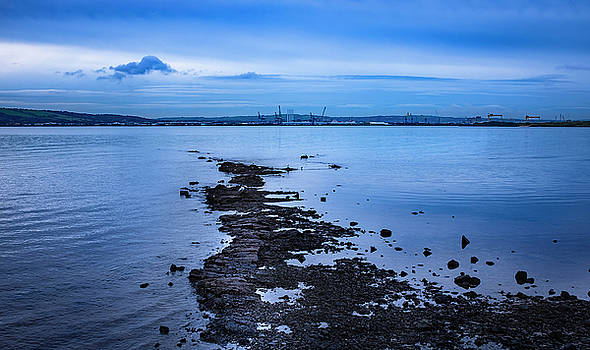 Calm over Belfast Lough by Alan Campbell