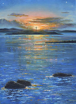 St.Cuthbert's Isle by Jenny McLaughlin