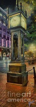 Steam Clock GasTown by Jim Hatch