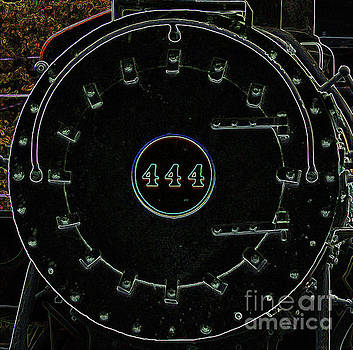 Steam Engine 444 by Kim Pate