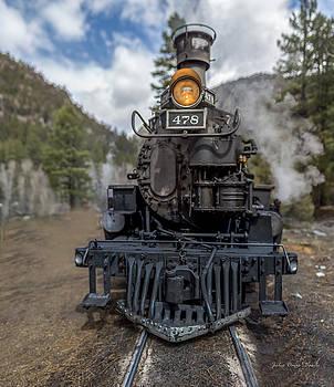 Steam Engine 478 by Julie Basile
