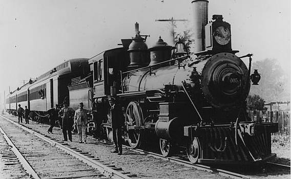 Chicago and North Western Historical Society - Steam Engine 605 With Cars - 1936