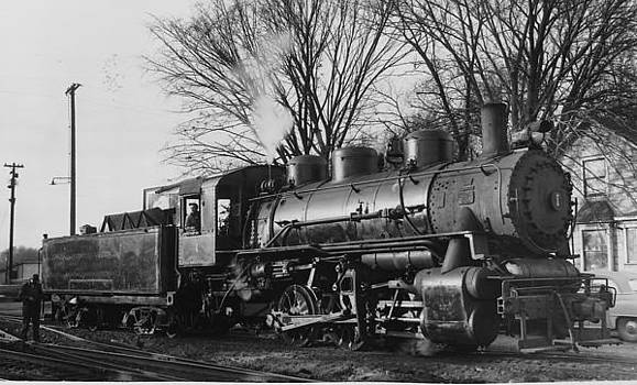 Chicago and North Western Historical Society - Steam Engine - 1956