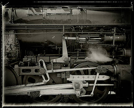 Steam Engine Closeup by Bud Simpson
