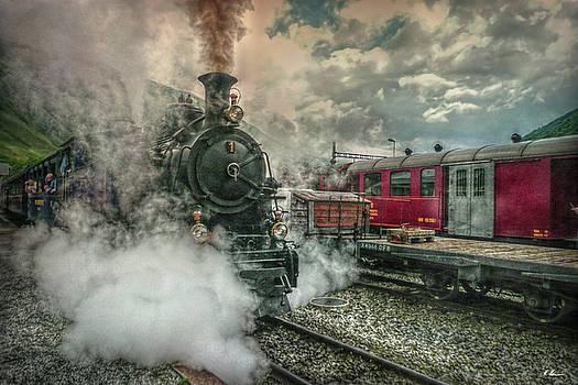 Steam Engine by Hanny Heim