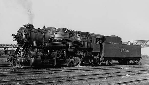 Chicago and North Western Historical Society - Steam Engine Idles