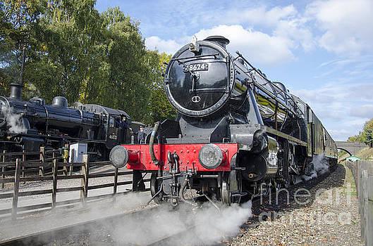 Steam locos at Rothley by Steev Stamford