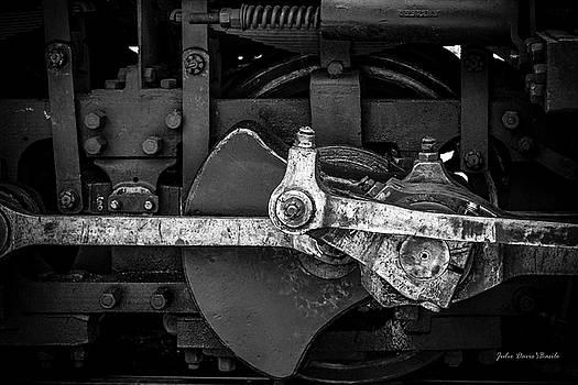 Steam Piston Power by Julie Basile