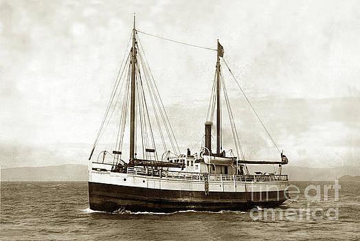California Views Mr Pat Hathaway Archives - Steam screw/schooner Gipsy, Circa 1900