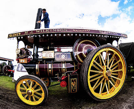 Steam traction by Peter Jenkins