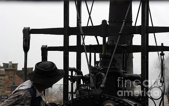 Steam Train Driver by Doc Braham