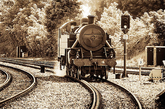Steam Train by Martina Fagan