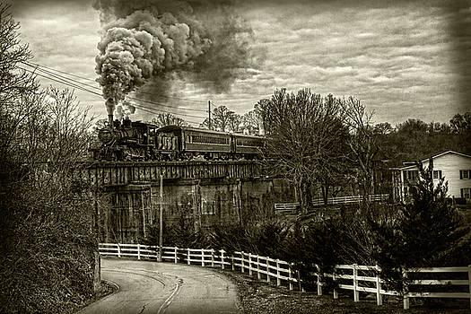 Sharon Popek - Steam Train Rolling
