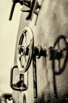 Steam Train Series No 25 by Clare Bambers