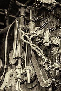 Steam Train Series No 36 by Clare Bambers
