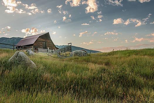 Steamboat Barn in Summer by Don Schwartz