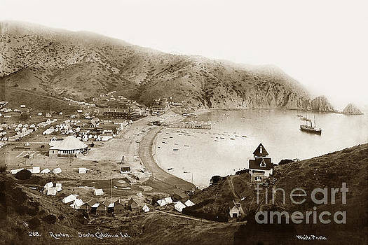 California Views Mr Pat Hathaway Archives - Steamer Cabrillo in Avalon Harbor Santa Catalina Island Circa 18