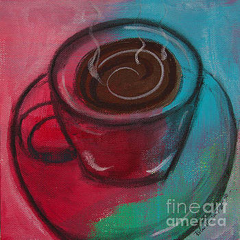 Steaming Hot Coffee by Robin Maria Pedrero