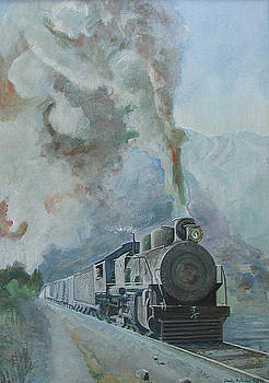 Steaming through the Andes by Wendy Head