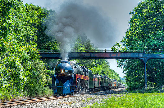 Steaming Through the Counrtyside by Steve Hammer
