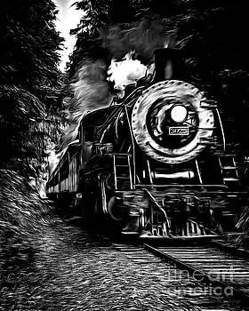 Edward Fielding - Steaming through the Pass