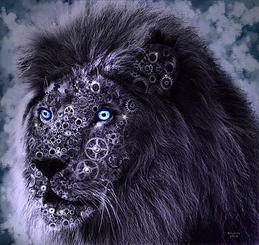 Steampunk Lion by Artful Oasis
