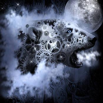 Steampunk Polar Bear by Artful Oasis