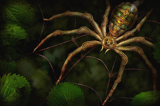 Mike Savad - Steampunk - Spider - Arachnia Automata