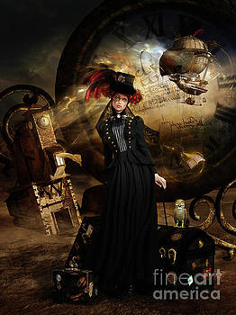 Steampunk Time Traveler by Shanina Conway