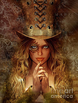 Steampunk Traveler by Shanina Conway