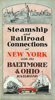 Steamship and Railroad Connections at New York by Baltimore and Ohio Railroad