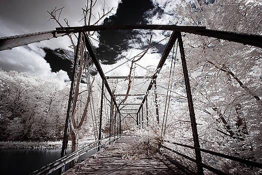 Steel Bridge Infrared by Notley Hawkins