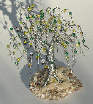 Steel Elm Beaded  by Sal Villano