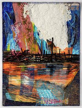 Steel Mills at Night by Martha Ressler