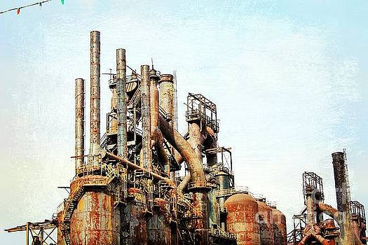 Steel Stack Blast Furnaces by Beth Ferris Sale