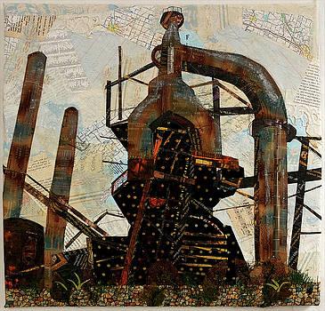 Steel Stacks Squared by Martha Ressler