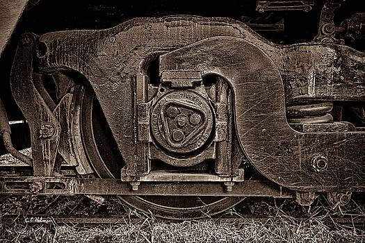 Christopher Holmes - Steel Wheel of Progess - Sepia