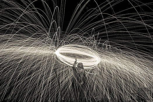 Georgia Fowler - Steel Wool Light Works