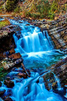 Steele Creek Falls by Andrew King