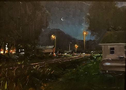 Steelville by Night by Marty Coulter