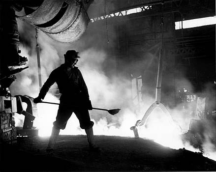 Steelworker by Colorado Fuel and Iron Photo Department