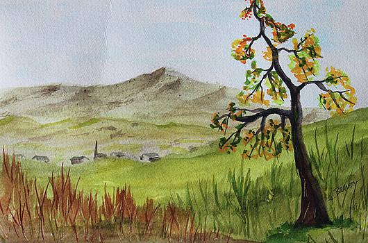 Steeple Valley by Jack G Brauer