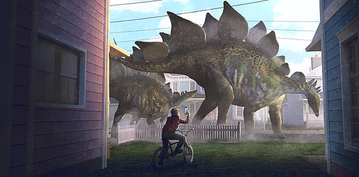 Stegosaurus by Guillem H Pongiluppi