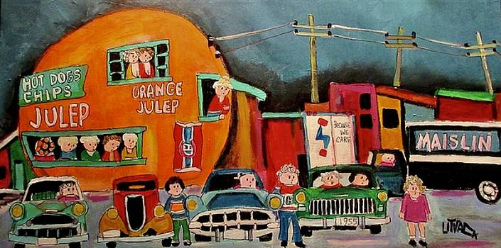 Steinberg's and Maislin at the Orange Julep by Michael Litvack