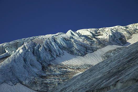 Steingletscher Sustenhorn Swiss Alps by Martin Wackenhut