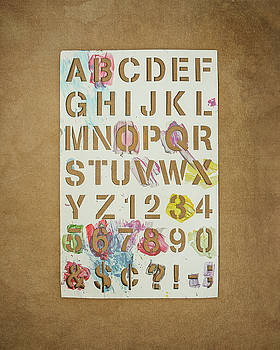 Stencil Alphabet Fun by Scott Norris