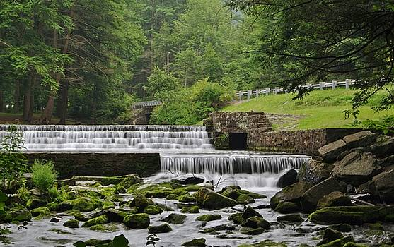 Ravensburg Park Falls by Stephanie Calhoun