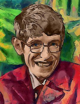 Stephen Hawking by Sergey Lukashin