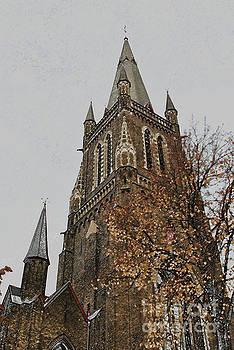 Jost Houk - Steeple of Bruges
