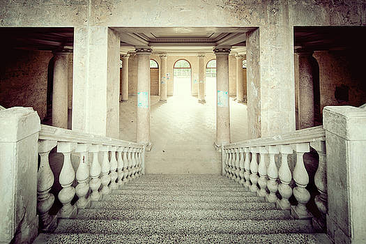 Stepping down to hallway by Svetlana Sewell